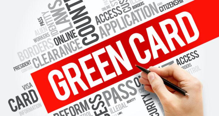 Green card word